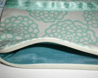 WINTER SALES 50% OFF Waterlily zipper pouch