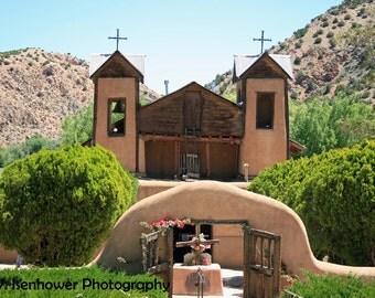 Mission church photography, Santuario de Chimayo, New Mexico, Catholic, adobe, rustic, healing, Val Isenhower