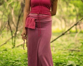 Desert dandelion maxi layering skirt