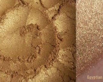 EGYPTIAN- Eyeshadow and Eyeliner Mineral Makeup- All Natural, Vegan Friendly
