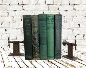 Vintage Green Book Bundle 1940s