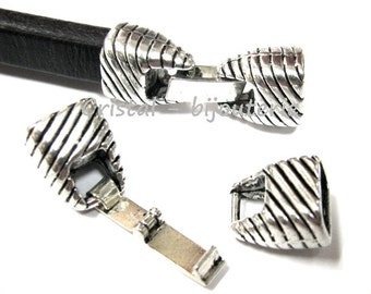 ref: fp1-175. 2 set cierres metalicos para cuero regaliz