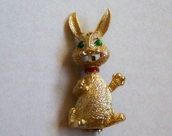 Rabbit Brooch.