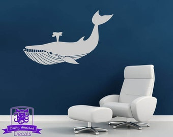 Whale Wall Decal Decor