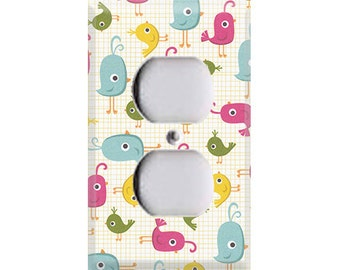 Hootenanny Collection - Birds Outlet Cover