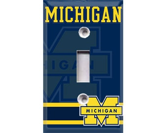 University of Michigan Light Switch Cover