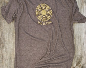 Men's- Let it Bee- Rustic Brown