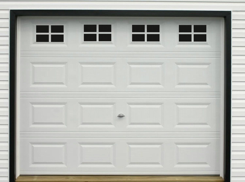 Decorative 3 Car Garage Door Window Decal Vinyl By