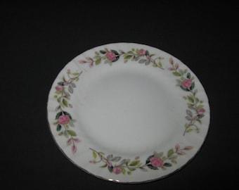 Regency Rose Pattern Plate - Creative Fine China 2345 Japan