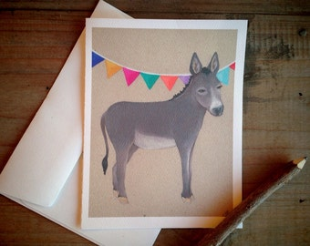 Donkey: Blank Stationery