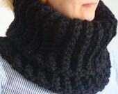 Easy Crochet Infinity Scarf / Neck Warmer, Digital Pattern
