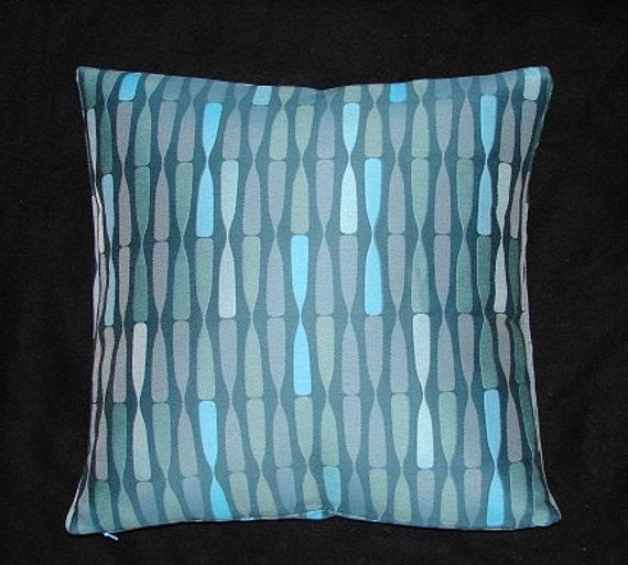 Maia Modern Pillows : Retro Mid Century Modern design Accent decor Pillow