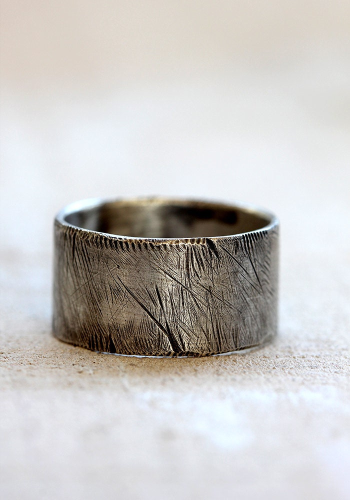 Men S Distressed Ring