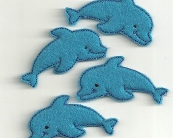 Dolphin Felties any color! Custom Made!
