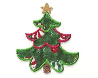 Christmas Tree Patch! Custom Made!