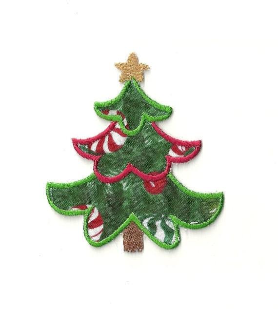 Christmas Tree Patch: Christmas Tree Patch Custom Made