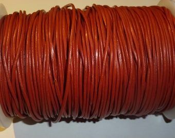D-02642 - 1m. Genuine Leathercord 1,5mm