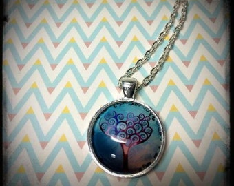 Tree Lover's series- silver necklace