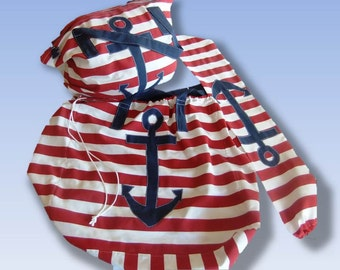 Nautical Beach Bag set made from strong Spanish fabric