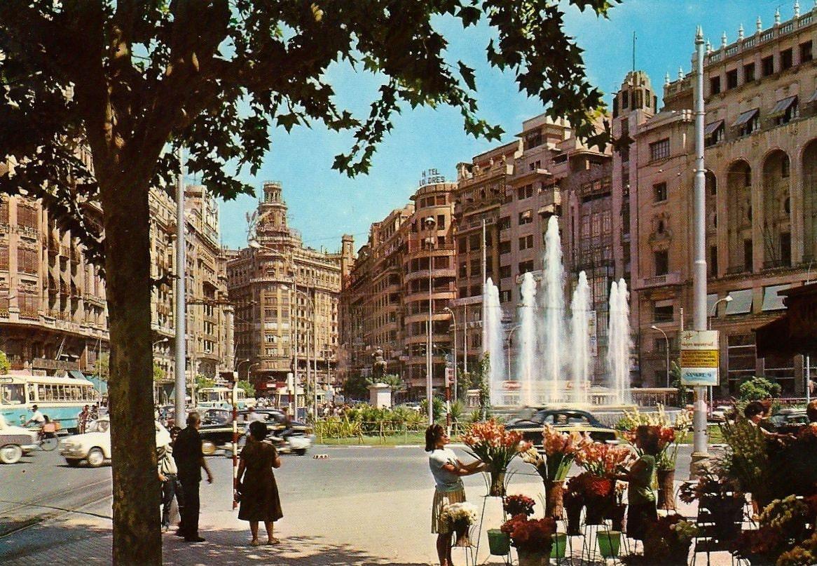 Vintage valencia postcard spain 1967 c13 - Vintage valencia ...