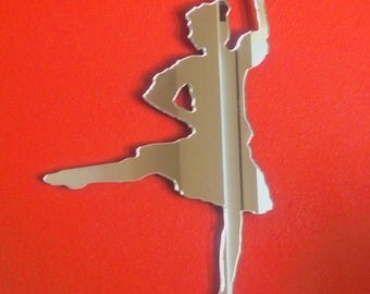Highland Dancer Shaped Mirrors - 5 Sizes Available
