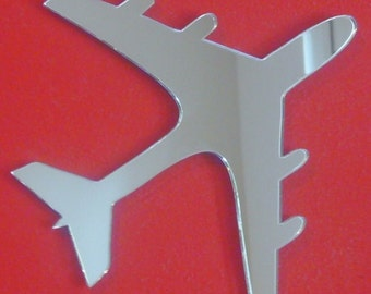 Aeroplane Shaped Mirrors - 5 Sizes Available
