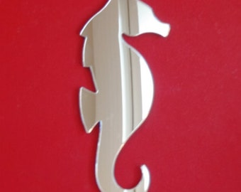 Seahorse Mirror - 5 Sizes Available. Also available in packs of 10 Baby Seahorses Crafting Mirrors