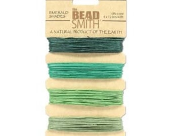 Emerald shades Hemp Twine .55mm (10 lb. test)