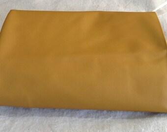 A12-27 sq ft Leather Hide Hides Cowhide Upholstery Fabric Dark Tan Deerskin Feel