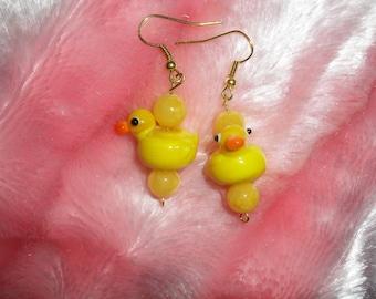Darling Duck earrings