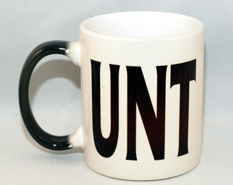 UNT Heat Change Mighty Morph 11 oz. Mug (Default Skull Image. Free Personalization)
