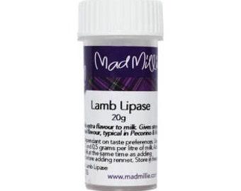 Home Cheese Making Lamb Lipase Powder 20 Grams