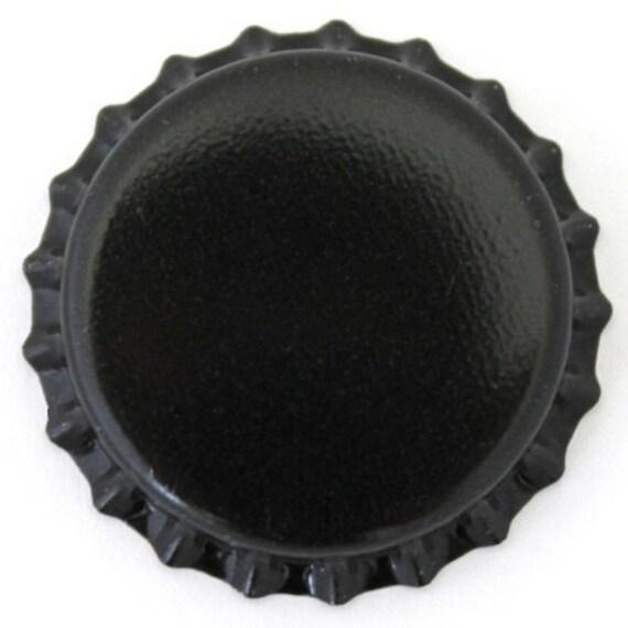 Black Oxygen Barrier Beer Bottle Caps 144 Count