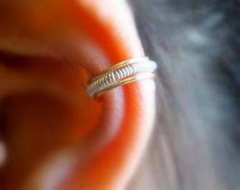 7)Simple and Cute Non-Pierced EAR CUFF II *Gold*