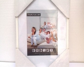Photo Frame white A4