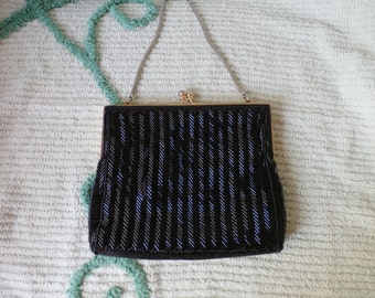 Vintage, Made in Hong Kong, Simpson's, Beaded Purse