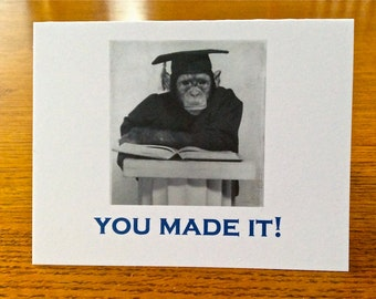 Law School Graduation Card - You Made It!