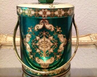 Gorgeous, Antique Tin Container
