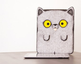 Cat - iPad Tablet PC Netbook sleeve case