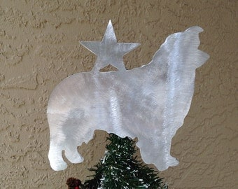 Kitty Kitty Cat Christmas Tree Topper Holiday Decoration