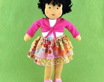 "15"" Doll Skirt & Shrug Outfit"