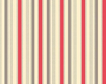 1  Yard Sasparilla by October Afternoon for Riley Blake red stripe