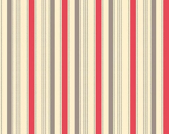 1  Yard Sasparilla by October Afternoon for Riley Blake red stripe