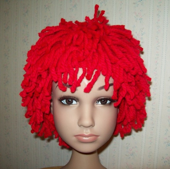 Red Wig For Toddler 77