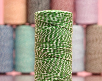 Green Cotton Baker's Twine