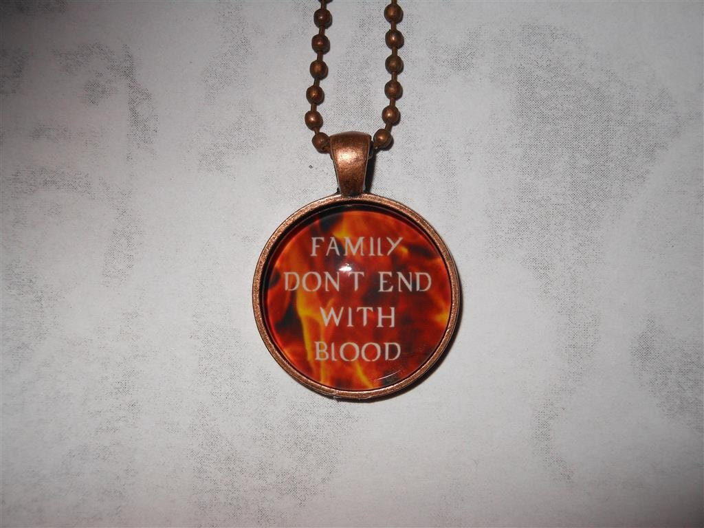 Supernatural Quotes Family Don T End With Blood: Supernatural Family Don't End With Blood Quote