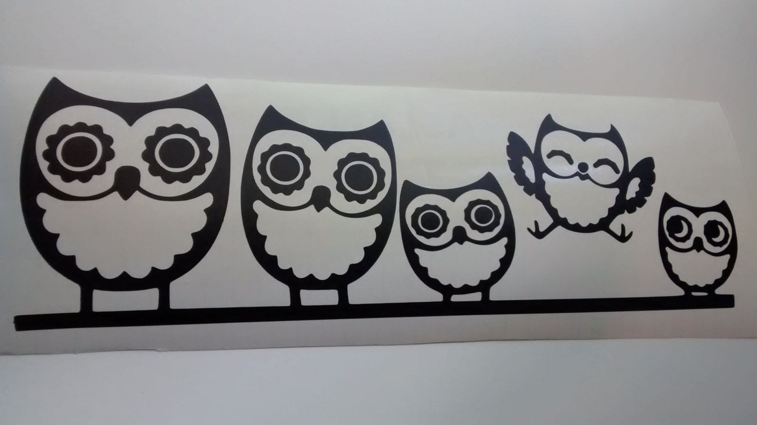 Owl Family Wall Decal Owl Wall Decals Owls Wall Decals Owl