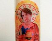 Liz Lemon/ Tina Fey Prayer Candle