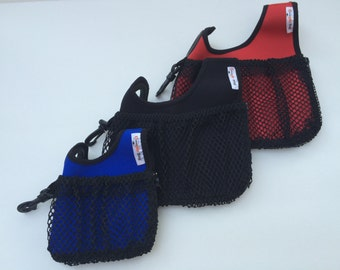 Medium Dog walker's carry-all bag. Medium DOOPLE BAG organizer and waste carrier keeps items at your fingertips, dog waste out of sight.