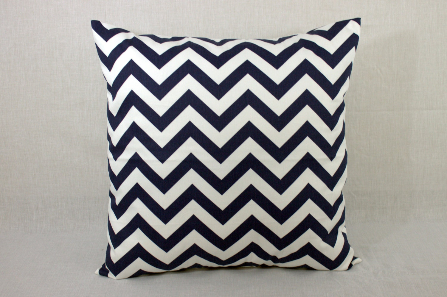 Navy Pillow Cover for Sofa Navy Throw Pillow Cover by HomeMakeOver